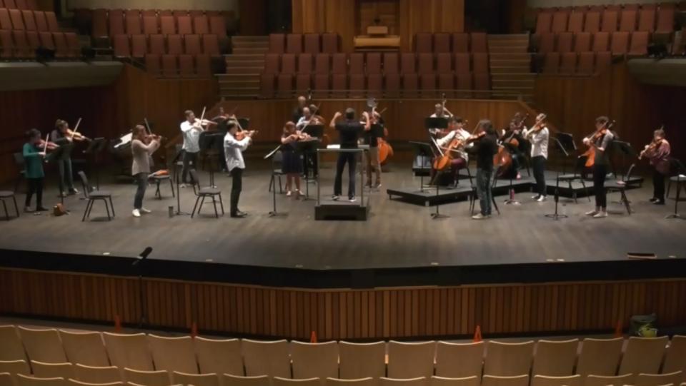 Symphony takes classics online