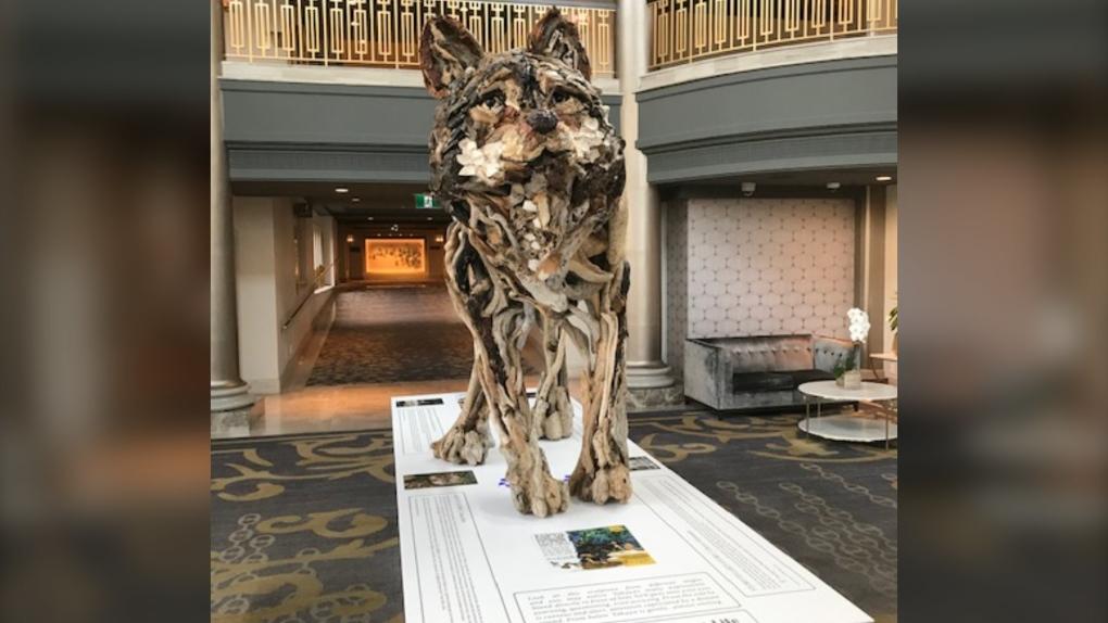 Takaya sculpture