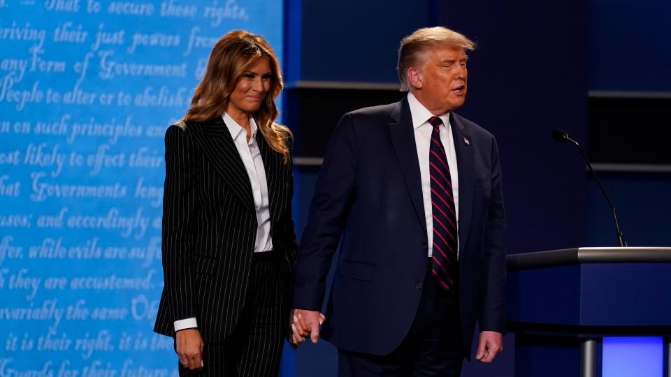 Donald Trump and Melania Trum