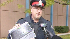 Guelph police Const. Kevin McCord talks to CTV News.