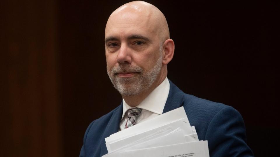 Parliamentary Budget Officer Yves Giroux