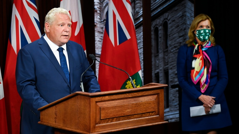 Ontario Asks People To Have Close Contact With Immediate Household Only Issues New Restrictions Ctv News