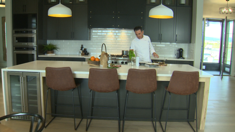 Calbridge Homes and Lina's Italian Market partner in our new Chef At Home series featuring stunning show homes and gourmet cooking