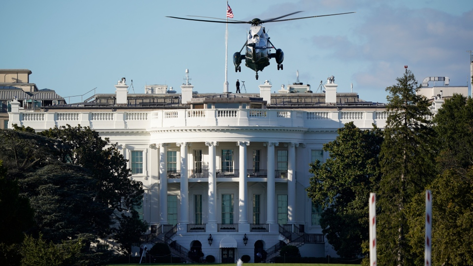 Helicopter at White House
