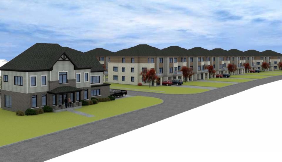 A controversial plan to build a small subdivision