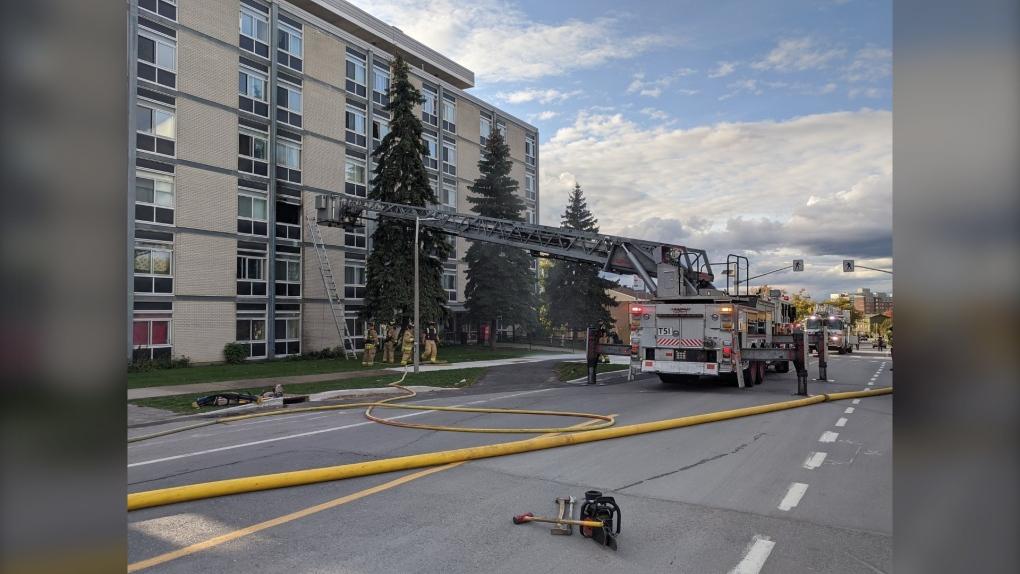 Fire in Lowertown