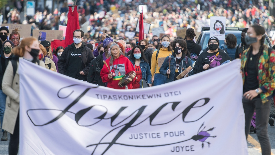 Justice for Joyce march in Montreal
