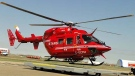 STARS Air Ambulance was dispatched to the scene of an early morning crash on the Trans-Canada Highway west of Calgary. (File)