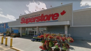 Loblaw's says an employee at the Real Canadian Superstore at 4410 17 Street in Edmonton has tested positive for COVID-19. (Photo: Google Street View)