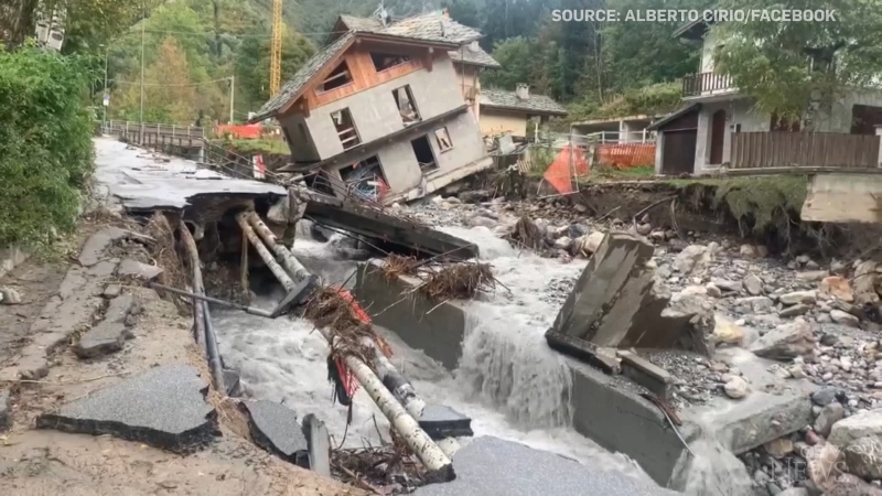 Southern France and Northern Italy were hit by Storm Alex over the weekend causing deadly flooding and devastating mudslides.
