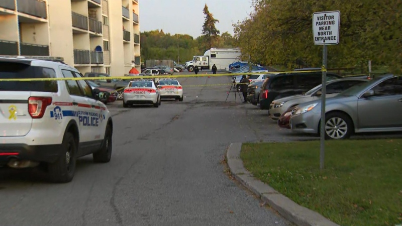 Police are investigating a fatal shooting in Oshawa on Oct. 5, 2020.