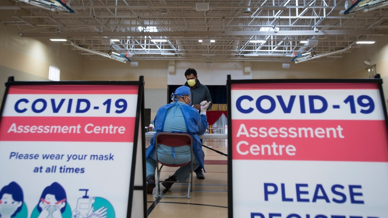 Ontario reports record high daily number of COVID-19 cases