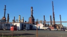 The oil refinery in Come By Chance, N.L. is shown on Tuesday, Oct. 6, 2020. THE CANADIAN PRESS/Paul Daly