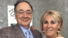 Barry and Honey Sherman are shown in a handout photo from the United Jewish Appeal. THE CANADIAN PRESS/HO-United Jewish Appeal MANDATORY CREDIT