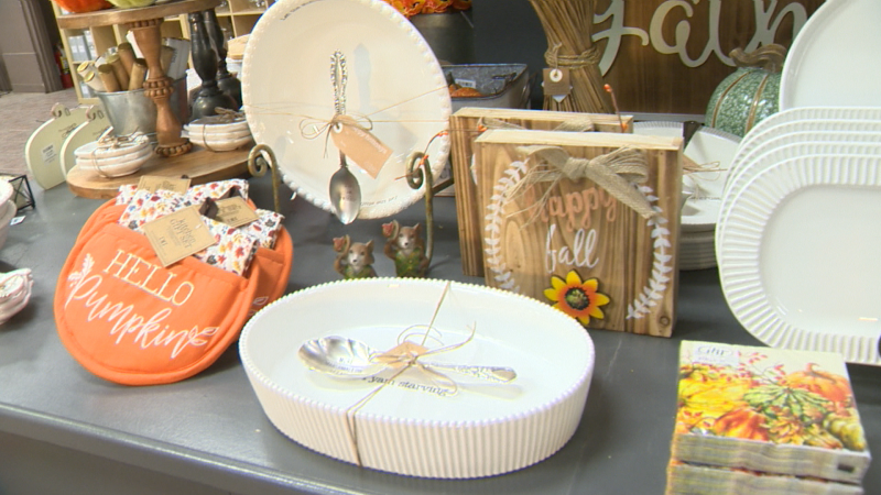 Golden Acre home and Garden has as array of unique fall home décor including Halloween decorations