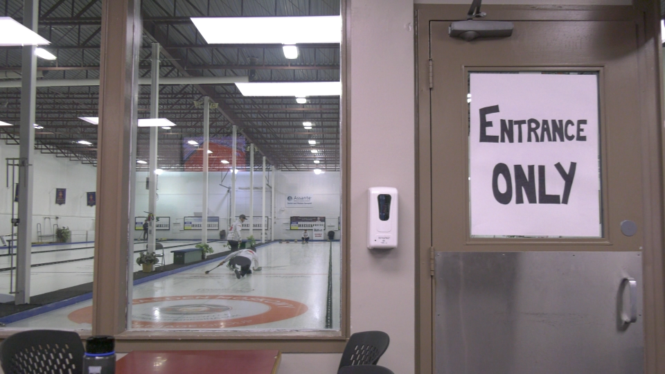 The Saskatchewan Health Authority has announced there is a heightened risk people may have been exposed to COVID-19 if they attended a number of curling events in Regina. (CTV Regina)