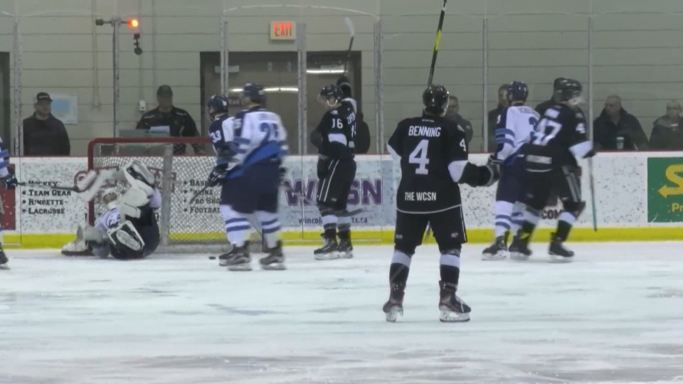 The AJHL is returning to the ice with an exhibition season. (File/CTV News Edmonton)