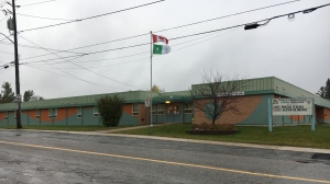 Ecole Catholic Louis-Rheaume in Timmins. Oct. 7/20 (Lydia Chubak/CTV Northern Ontario)