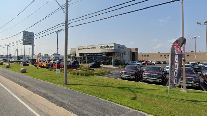Windsor Chrysler at 10380 Tecumseh Rd. E in Windsor, Ont. (Courtesy Google Maps)