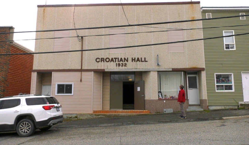 The Croatian Society of Schumacher recently launched a fundraising campaign to collect money for building repairs of the Croatian Hall. (Lydia Chubak/CTV News)