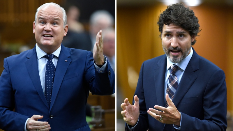 Trudeau, O'Toole debate over COVID-19 response