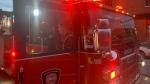 Montreal Fire Department/Securite incendie Montreal truck - file photo (Daniel J. Rowe/CTV News Montreal)