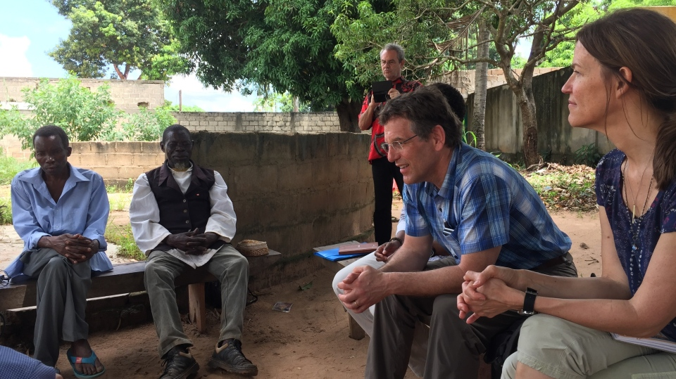 Dr. Ron Siemens has dedicated much of his professional career to travels to Mozambique. (Submitted photo)