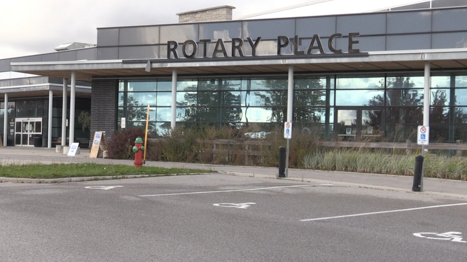 Rotary place in Orillia, Ont. on Oct 7, 2020 (CTV Barrie Roger Klein)