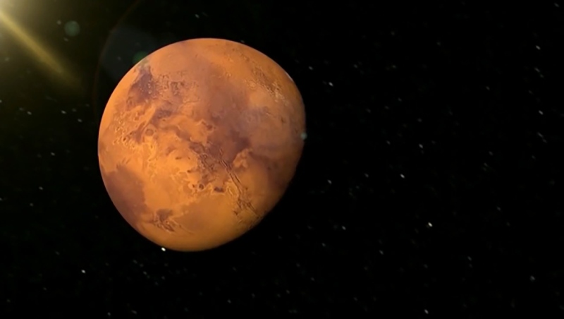 Mars was at its closest alignment to Earth Tuesday and will still be visible for the next several nights
