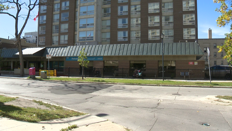 Parkview Place Care Home in Winnipeg. (CTV News File Photo)
