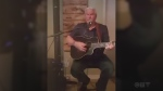 Denis Trudeau from Timmins covers 'Crying my Heart out over You' by Ricky Skaggs.