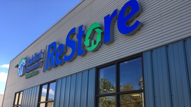 There are challenges for the Habitat for Humanity Restore during the pandemic.