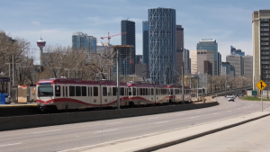 The city is exploring potential changes to the transportation behaviours of Calgarians post-pandemic (file)