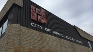 Prince Albert Police Service headquarters are pictured in this file photo.