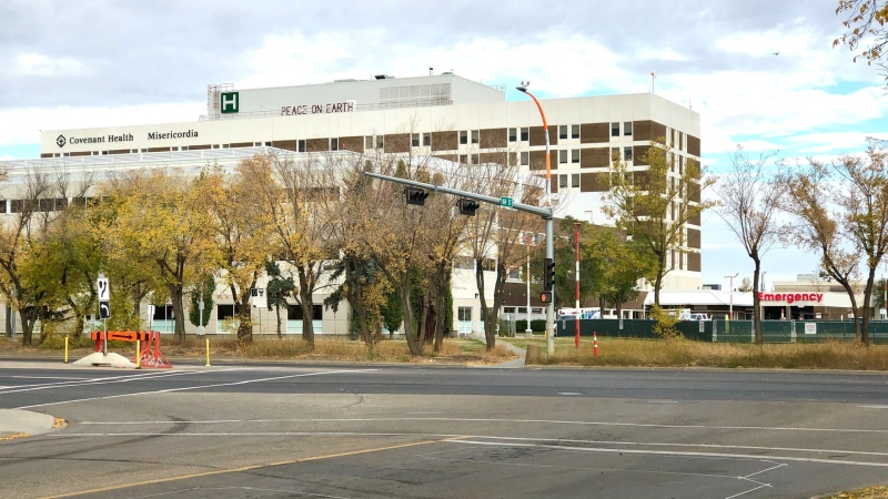 The Misericordia Community Hospital in Edmonton. (John Hanson/CTV News Edmonton)