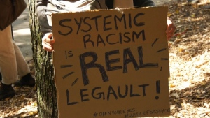 Calls for premier to acknowledge systemic racism