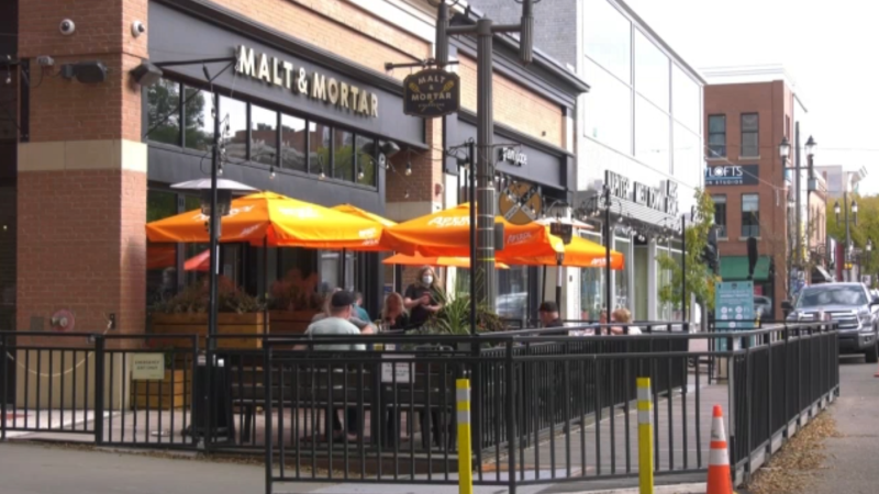 Whyte Ave. patios