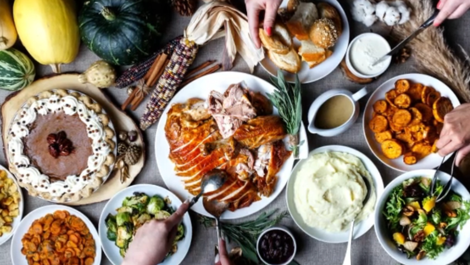 Thanksgiving feasts will be smaller due to COVID.