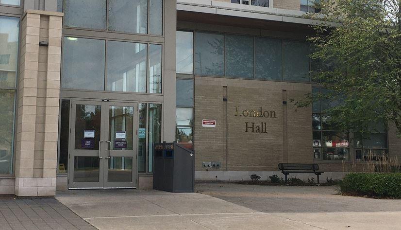 London Hall Residence at Western University