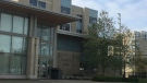 London Hall Residence at Western University in London, Ont. on Oct, 12, 2020. (Brent Lale/CTV LOndon)
