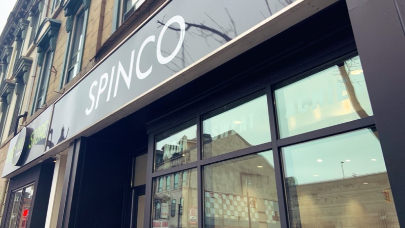 A SPINCO location in Hamilton is seen in this photograph taken in 2019. (Carly Conway/CTV News Toronto)