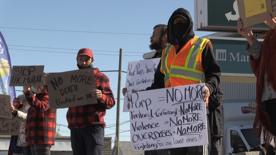 Timmins protestors unite in No More movement