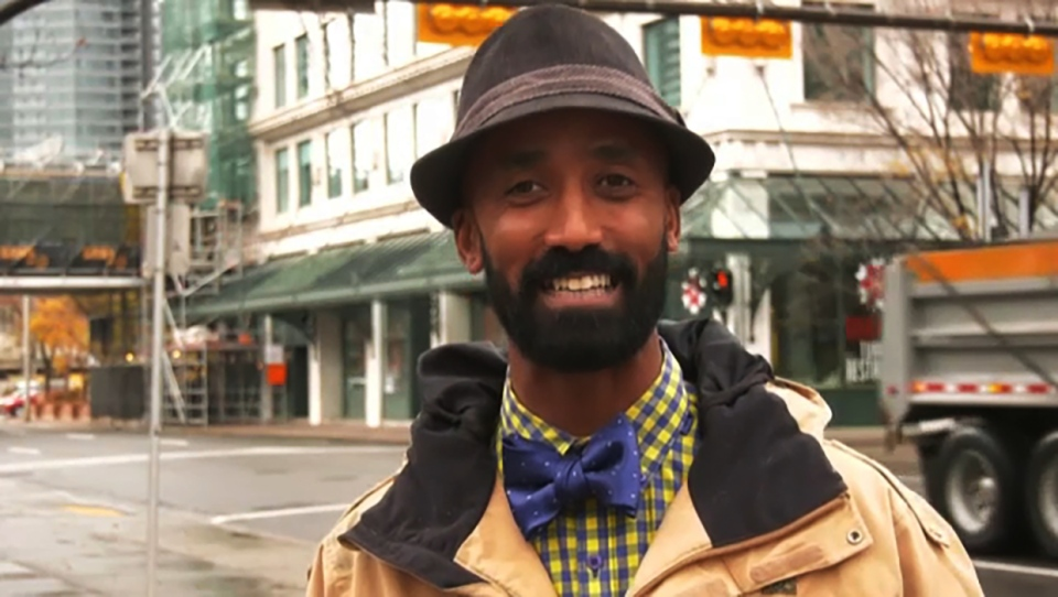 Binyam Asress was named the friendliest Uber driver in Calgary. He's also a growing social media personality, giving out upbeat advice on Tik Tok