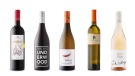Domaine Costa Lazaridi Amethystos 2017, Underwood Pinot Noir 2018, Featherstone Canadian Oak Chardonnay 2018, Kozlovic Malvazija 2018, Black Cottage Rosé 2019