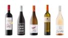 Domaine Costa Lazaridi Amethystos 2017, Underwood Pinot Noir 2018, Featherstone Canadian Oak Chardonnay 2018, Kozlovic Malvazija 2018, Black Cottage Rosé 2019