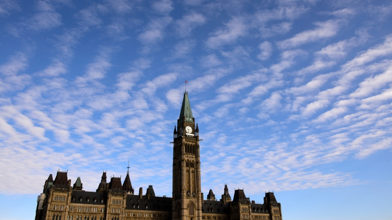 Parliament Hill is shown in Ottawa on Wednesday, March 11, 2020. (THE CANADIAN PRESS/Sean Kilpatrick)