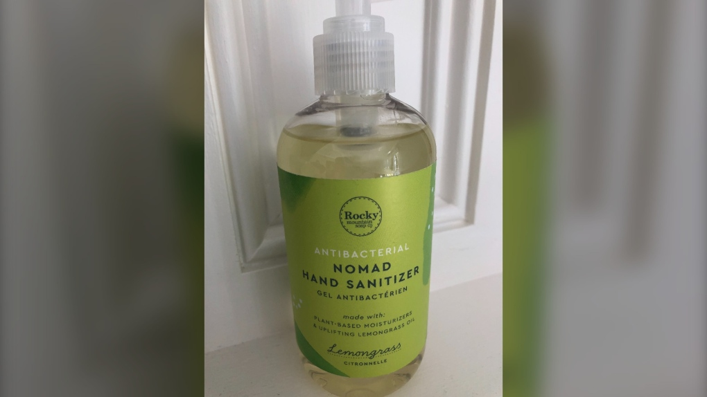 Nomad hand sanitizer