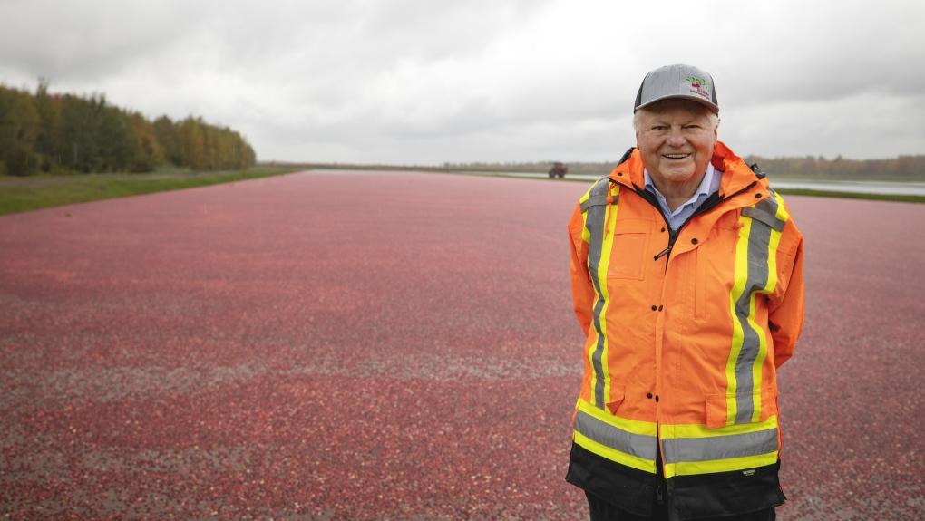 Marc Bieler, the king of cranberries in Quebec