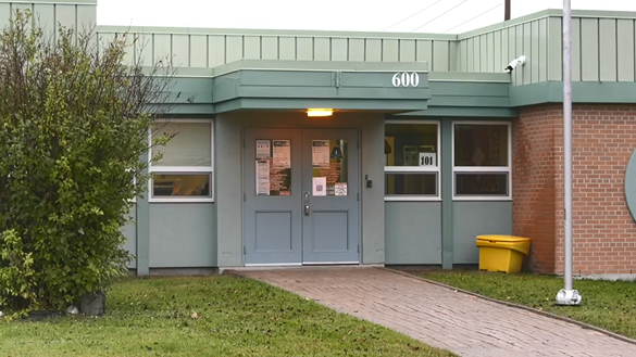 Ecole catholique Louis-Rheaume in Timmins. (File)