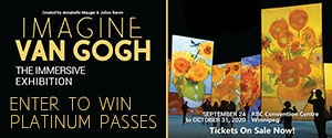 Imagine Van Gogh - The Immersive Exhibition Banner